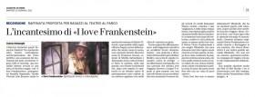 Recensione Ottolenghi - I love Frankestein